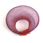 Bague Cocon rouge et violet