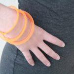 Bracelet Tournicotti orange
